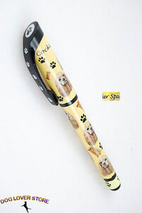 Yorkie Dog Pen Replaceable Ballpoint Black Ink