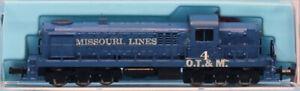Atlas-1-160-N-Scale-Missouri-Lines-4-OT-amp-M-Locomotive-Engine-Train-ML4U