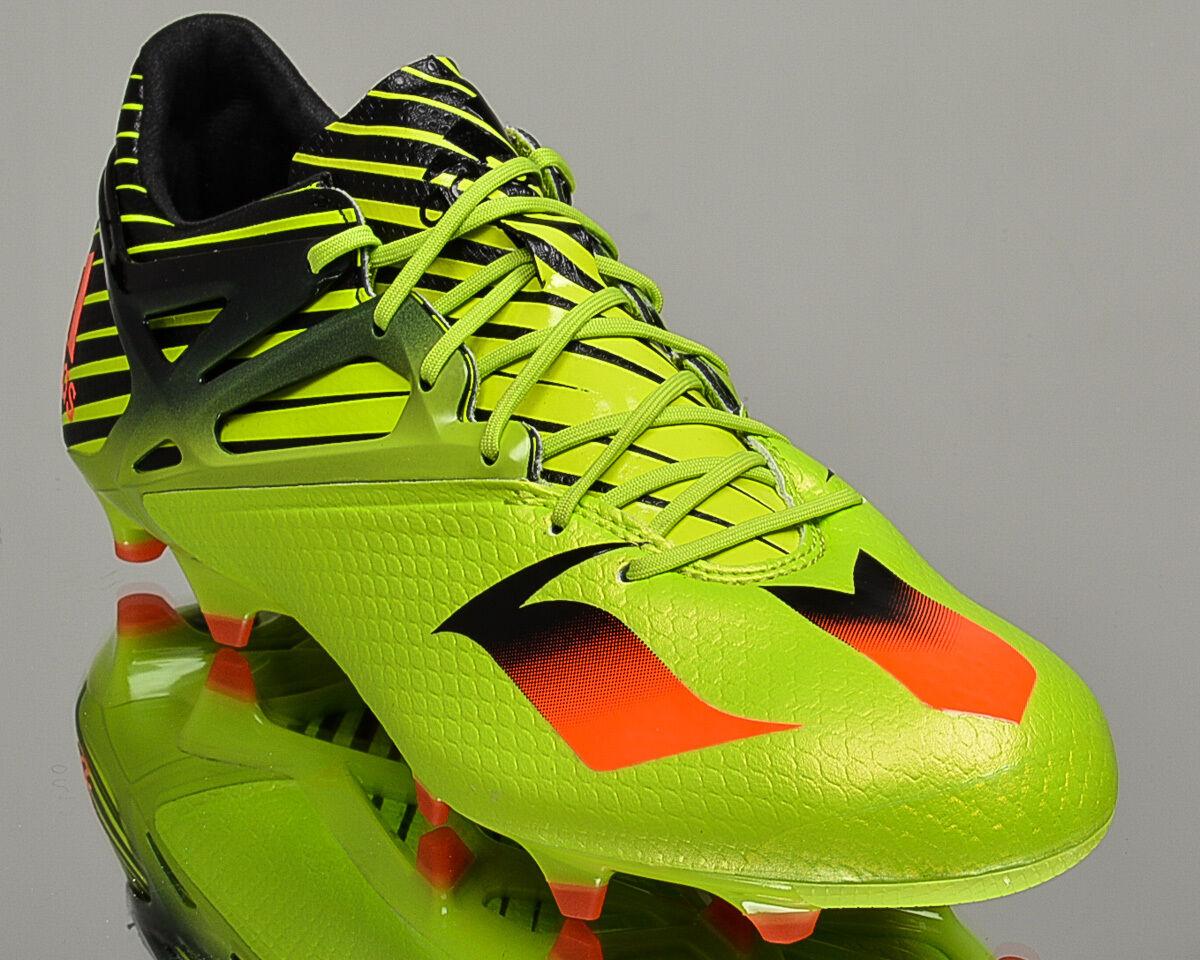 Adidas Messi Messi Adidas 15.1 FG/AG Hombres Zapatos Botines de fútbol nuevos Brillante Verde S74679 253e2c