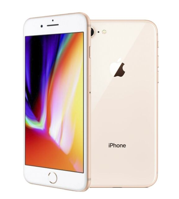 Apple Iphone 8 64gb Gold Boost Mobile A1863 Cdma Gsm For Sale Online Ebay