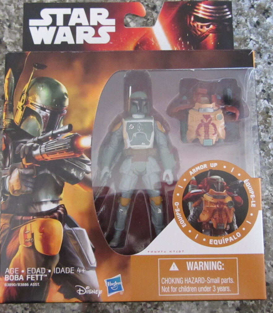 Star Wars 2015 Boba Fett Armor up 3.75  Action Figure..NEW...   ...........i