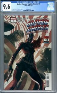 United States of Captain America #4 1st Appearance of Ari Agbayani CGC 9.6