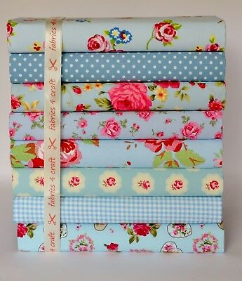 Cath Kidston  Fabric Material 50 X 50cm Green Check FQ Patchwork Quilting Sewing