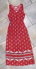 1103 Old Navy Red Boho Sleeveless Long Max Dress XS