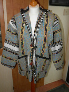 Jacket Hooded Napalese Woolen Coat Feel Lady's Taglia Style 12 Made Hand AWxYTWn0a