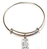To Do List Bangle Bracelet, To Do List Charm, To Do List Pendant, Note Bracelet