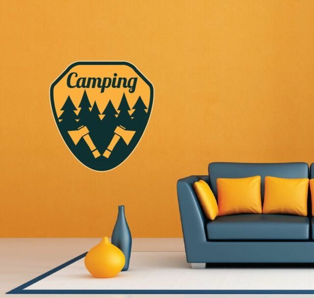 z2649 Wall Decal Hunt Hunting Deer Tourism Travel Camping Cool Decor