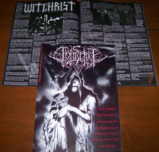Antichrist Magazine #12  BLASPHEMOPHAGHER  BNT  DEMONA  PROCLAMATION  WITCHRIST
