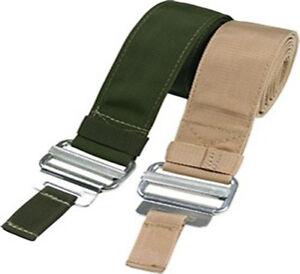 e4582960 Image is loading ARMY-Webbing-Roll-Pin-Belt-DESERT-TAN-COYOTE-