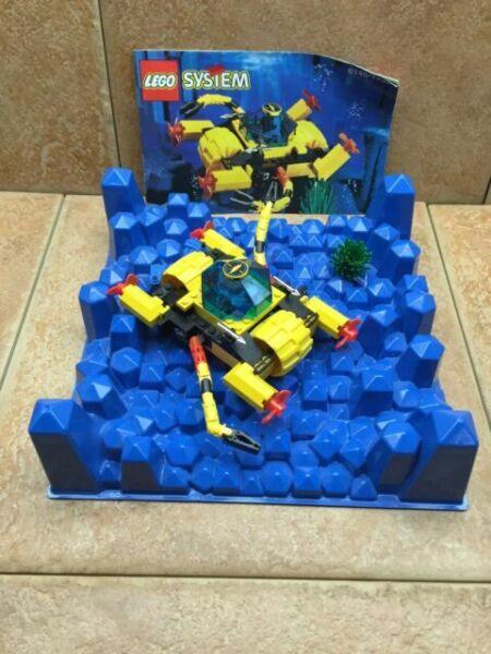 "Lego Vintage Aquazone Aqusharks Aquanauts 16 x 21/"" Poster 1995 Advertising Ad"