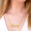 thumbnail 31 - Personalized FINE Sterling Silver 14K Gold ANY Name Plate Necklace + Free Chain