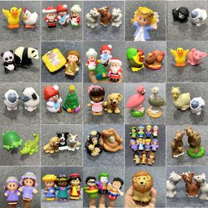 Fisher-Price-Little-People-CHRISTMAS-Santa-Zoo-Animal-Disney-Figure-Toys