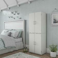 Crosley Furniture Seaside Kitchen Pantry Cabinet Distressed Black For Sale Online Ebay
