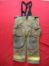 Mfg 2010 Globe Gxcel 48 X 32 Firefighter Turnout Bunker Pants Fire Rescue