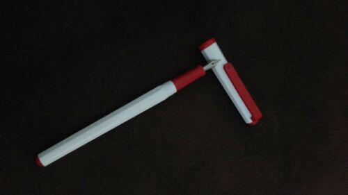 Sailor 1x fountain pen Sailor Slim candy white and red color