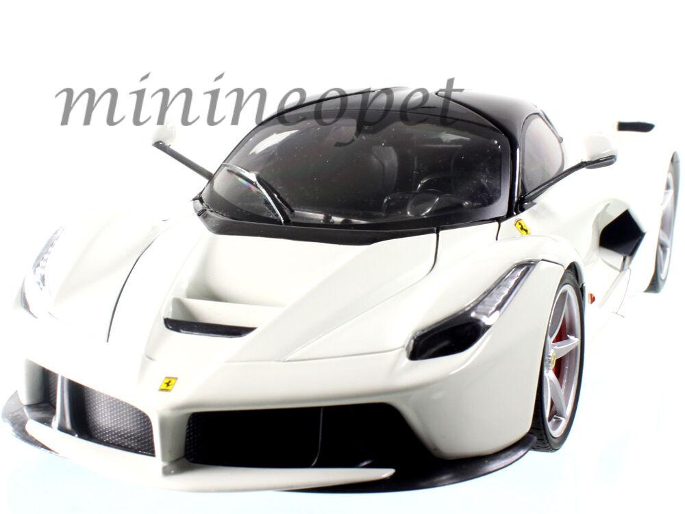 Hot Wheels bly54 Ferrari laferrari F70 híbrido nuevo Enzo Enzo Enzo 1 18 Diecast blancoo 12edae