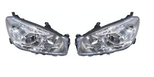 Pair of Headlights lamp for Toyota RAV4 ACA30 Series 08/2008 ~ 11/2012