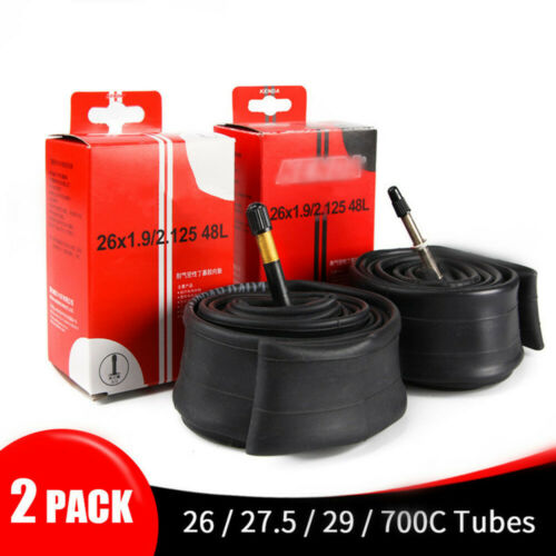 2PCS Schrader Bicycle Tires Bicycle Tube Tire Bike Inner Tube 26//27.5//29//700c