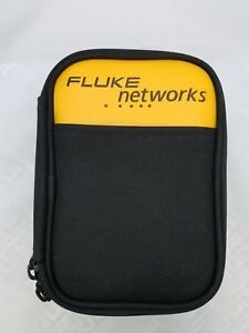FLUKE-NETWORKS-CASE-WITH-BELT-CLIP-METAL-6-25-034-4-034-2-034-DUAL-ZIPPERS-POUCH-INSIDE