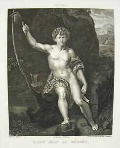 Saint-Jean-Baptiste-to-the-Desert-Raphael-Wicar-Bervic-Sc-1791-Raffaello-Sanzio