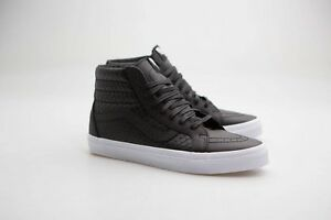 bef01cab331f Vans Men Sk8-Hi Reissue DX - Armor Leather black VN08GJMS4 | eBay