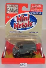 Mini Metals 1/87 Metro Delivery Truck grau OVP #892