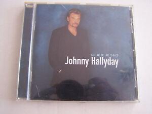 CD-JOHNNY-HALLYDAY-CE-QUE-JE-SAIS-1998-14-TITRES-BON-ETAT