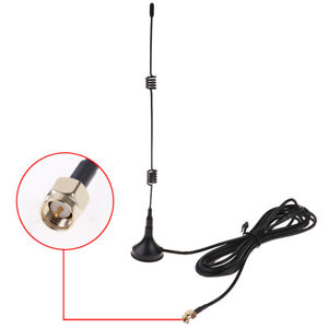 2.4GHz WLAN WiFi 7dBi Antenna,SMA Male Connector for WiFi USB Adapter Booster AP
