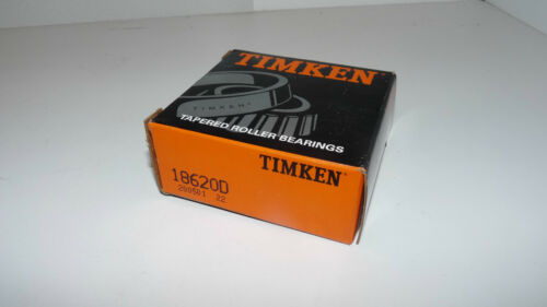 New Timken 18620D Tapered Roller Bearing Double Cup Race Made in USA