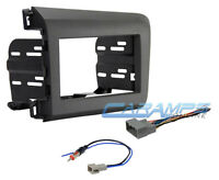 Civic Single/double Din Car Stereo Radio Installation Dash Kit W/ Wiring Harness on sale