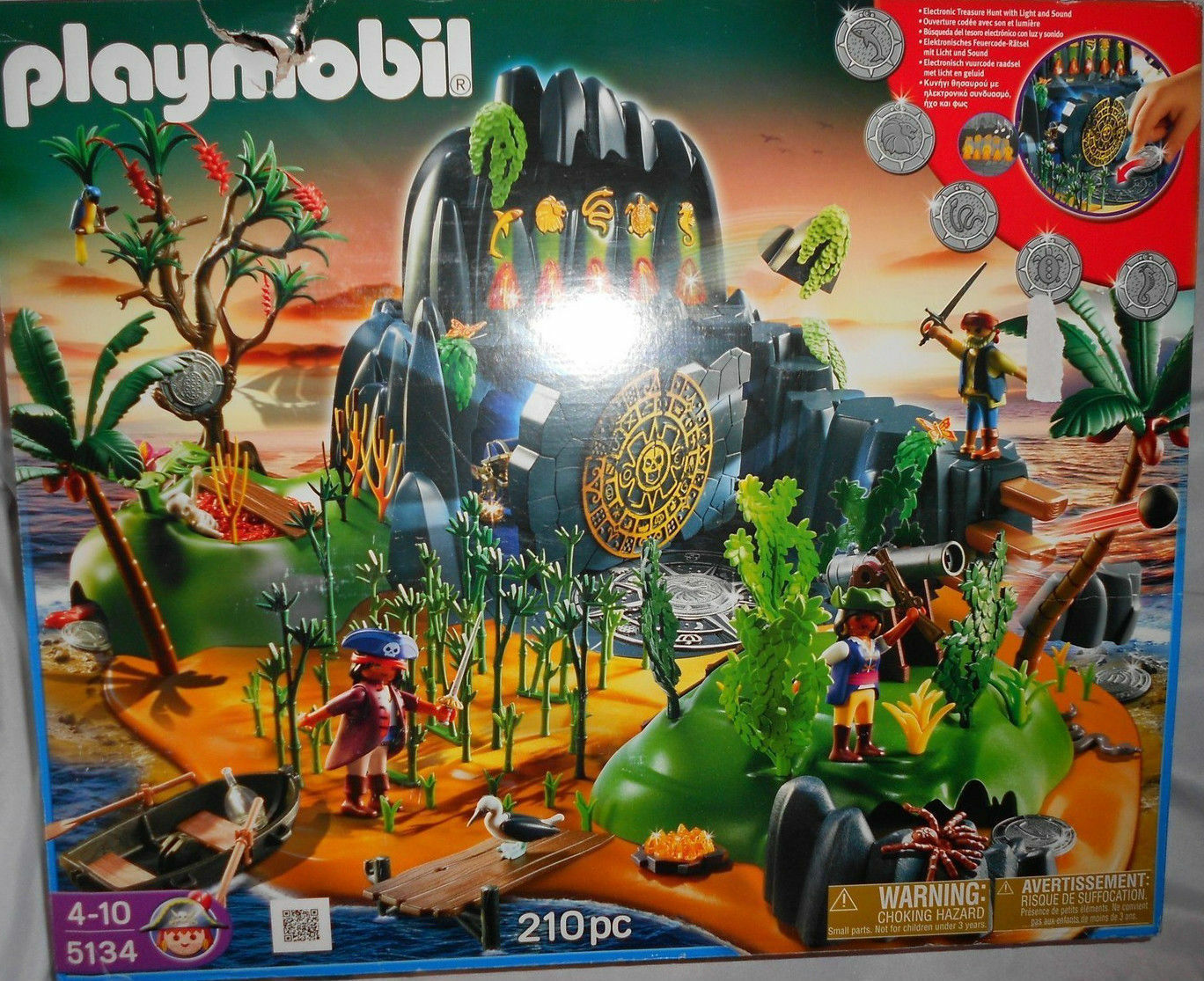 Playmobil  5134 Pirates Adventure Treasure Island New Sealed