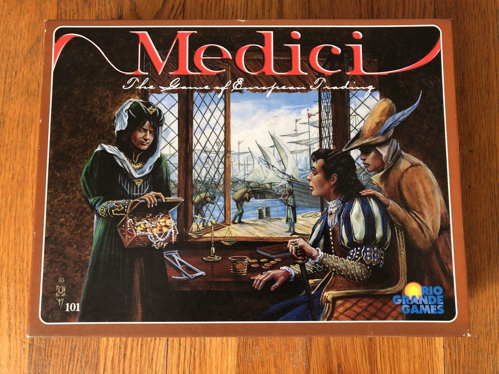 Medici brettspiel - 1. druck - rio grande games - vg lage