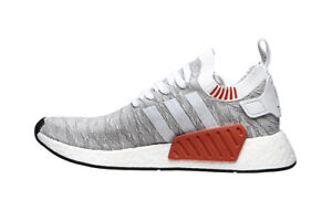 huge selection of 19cb7 8526e Details about Men Adidas NMD R2 Primeknit Running White/Core Black BY9410