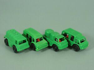 Coches-Airport-Spezialfahrzeuge-Di-Ue-1986-Set-Completo-Verde