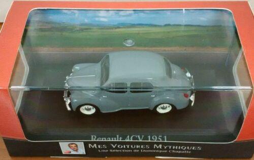 Renault 4CV Model Car 1//43 atlas