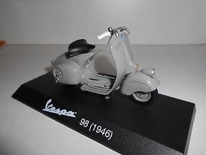 VESPA-98-1946-MOTO-BIKE-MAISTO-COLECCION-VESPA-FABBRI-1-18-BLISTER-MAL