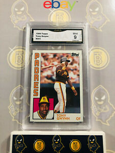 1984-Topps-Tony-Gwynn-251-9-MINT-GMA-Graded-Baseball-Card