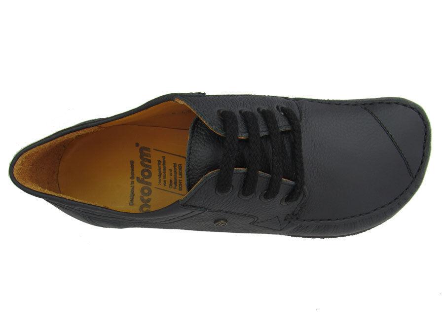 Jacoform Modell 338 schwarz - Bequemschuh Leder Herren u. Damen unisex
