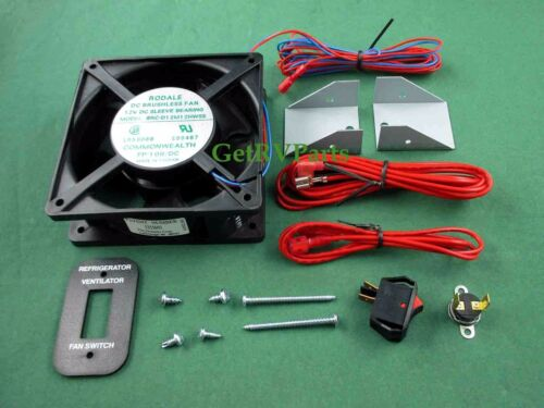 Dometic3108705751RV Refrigerator Exhaust Ventilation Fan Kit