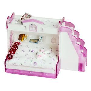 Letto A Castello Bambole.1 12 Letto A Castello In Miniatura Fai Da Te Casa Delle Bambole