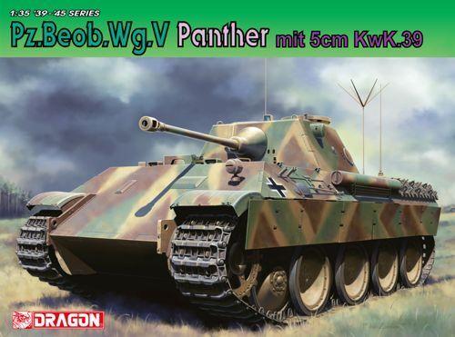 Dragon 1 35 Pz.Beob Wg.V Panther Plastic Model Kit