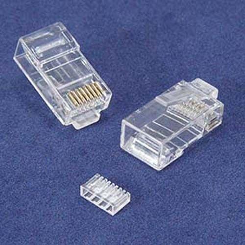 Cat6 RJ45 Shielded Load Bar x 25 50 100 lot Pack Solid Stranded Modular Plug 8P