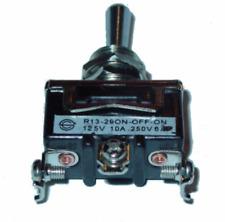 Spdt On Off On 10a250v Standard Size Heavy Duty Interruptor Bat Toggle Switch