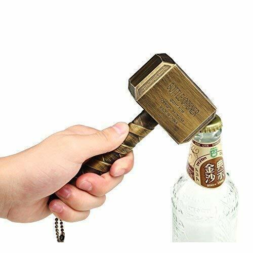 Thor/'s Hammer Shape beer bottle opener bar abrebotellas Wine corkscrew Wrench