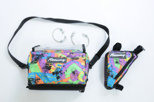 cadre sac à outils cycle bagages 50/% off Multicolore vélo guidon sac