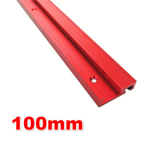 Aluminium Alloy 100~ 500mm T Track T-Slot Slider Miter Jig Tool Woodworking Kit