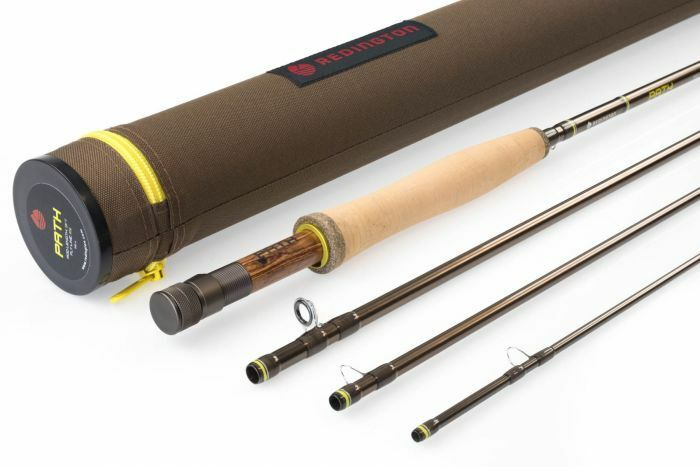NEW REDINGTON PATH II 490-4 9' FT  WEIGHT 4 PIECE FLY ROD WITH TUBE, WARRANTY  100% authentic