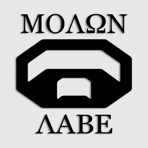 Tundra Decal Molon Labe Gun Rights 2nd Amendment Sticker Tacoma for Toyota