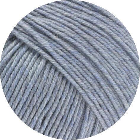 lana Grossa-Cool wool melange-FB Lana creativo 154 gris azul jaspeadas 50 G