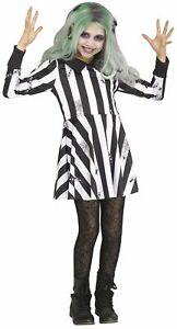 Ghost Girl Beetlejuice CHILD Girls Costume NEW Dress